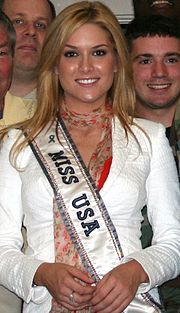 Miss USA 2006 Tara Conner, who competed as Miss Kentucky USA