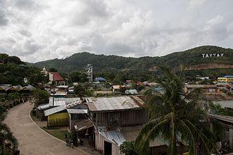 Taytay, Palawan - Image: Taytay Philipines