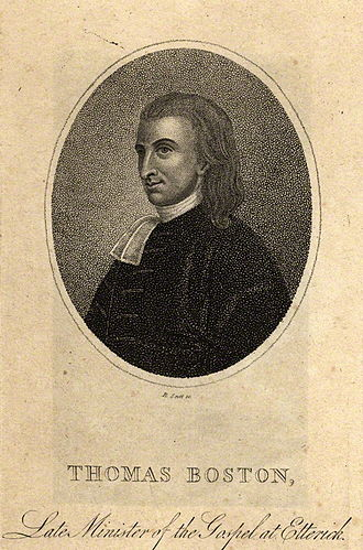 Thomas Boston - Image: Tboston
