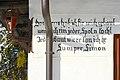 Techelsberg Sankt Spruch auf Hauswand Sumer Simon 31012015 127.jpg