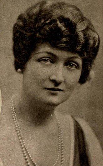 Teresa Maxwell-Conover - In 1921