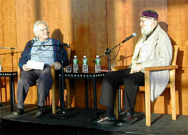 Terry Riley (rechts) in 2004