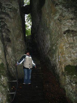 Teufelsschlucht bei Ferschweiler