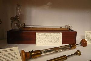 Eudiometer - Eudiometer after J.H. de Magellan, Teylers Museum