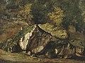Théodore Rousseau, Etude de rochers.jpg