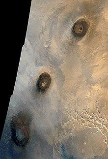 火星的火山活动