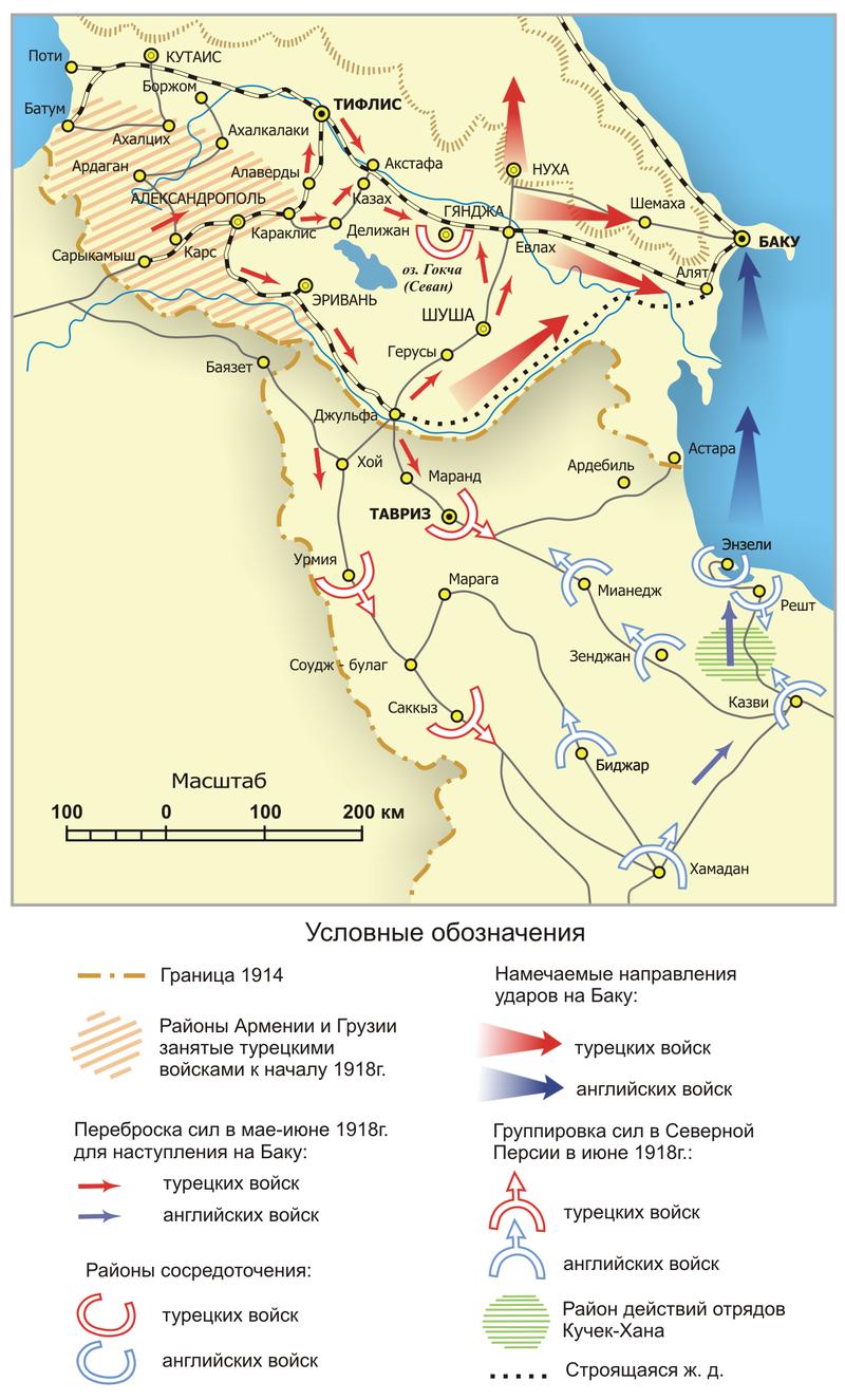 Histoire militaire turque - Page 8 800px-The_Battle_of_Baku_1918