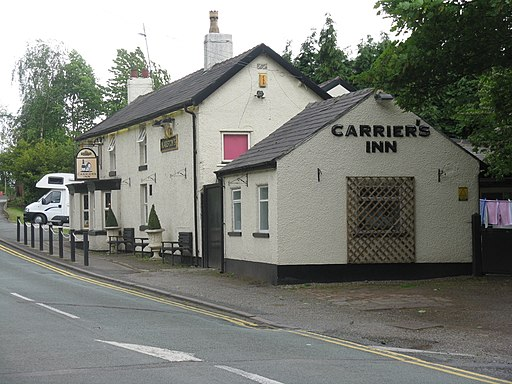 The Carrier's Inn at Hatchmere - geograph.org.uk - 2412678