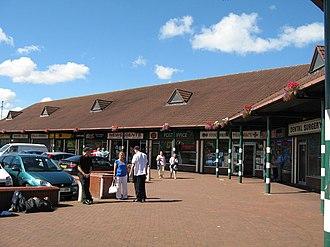 Stockbridge Village - Image: The Croft, Stockbridge Village geograph.org.uk 522139