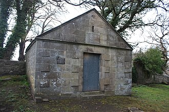Stanley Davidson - The Davidson vault, Currie churchyard, Edinburgh