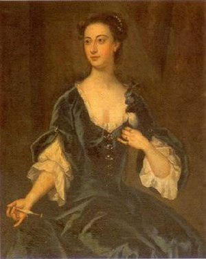 Mary Howard, Duchess of Norfolk (died 1773) - 1737 portrait of the Duchess of Norfolk (née Mary Blount), by John Vanderbank