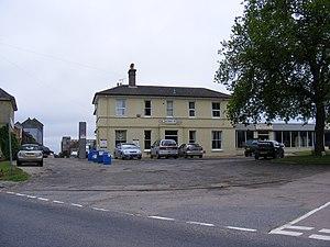 Framlingham branch - Image: The Former Railway Station, Framlingham geograph.org.uk 1909559
