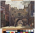 The Grand Priory of the Order of St John of Jerusalem in England, St John's Gate, Clerkenwell, Ec Art.IWMART3693.jpg