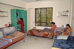 Hostel matron