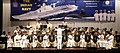 The Indian Navy Symphonic Band performing at the Capt MN Mulla Auditorium, in Colaba Military Station.jpg
