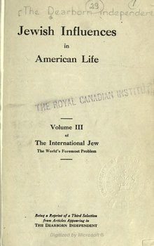 The International Jew - Volume 3.djvu