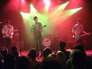 Pop Etc - The Morning Benders (now POP ETC) performing at Toronto's Mod Club Theatre in 2010
