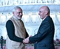 The Prime Minister, Shri Narendra Modi and the President of Afghanistan, Dr. Mohammad Ashraf Ghani at the Golden Temple, in Amritsar, Punjab on December 03, 2016.jpg