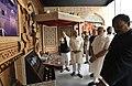 The Prime Minister, Shri Narendra Modi visiting the Bihar Museum, in Patna on October 14, 2017. The Governor of Bihar, Shri Satya Pal Malik and the Chief Minister of Bihar, Shri Nitish Kumar are also seen (1).jpg