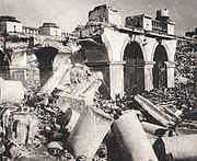 The Saski Palace Warsaw, destroyed by Germans in 1944