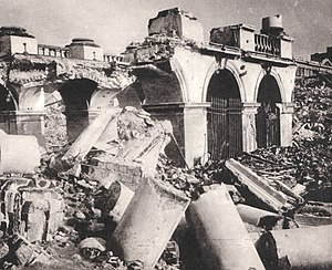 The Saski Palace Warsaw, destroyed by Germans in 1944.jpg