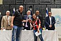 The Shield of Honor - Israeli Hope ceremony - Uri Aharoni and Uri Sheratzky (GPO317).jpg