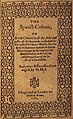 The Spanish Colonie, or Briefe Chronicle of the actes and gestes of the Spaniardes in the West Indies London William Brome, 1583.jpg