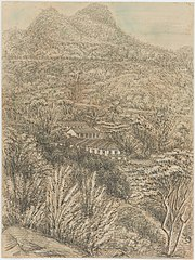 The Spot & Aqueduct from the Pasto - 16th December 1854
