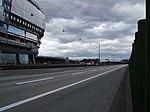 The Squaire an der Autobahn A3 während des Orkans Xynthia-Blickrichtung Ost.jpg