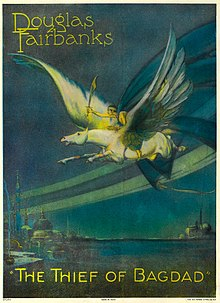 Description of l'image The Thief of Bagdad (1924) - film poster.jpg.