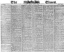 Prima pagina del 6 luglio 1863