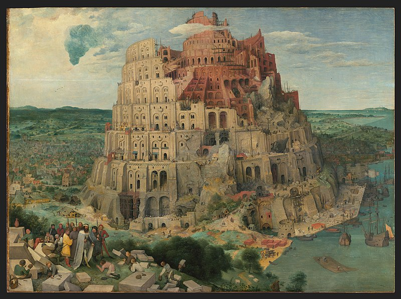 File The Tower Of Babel Bruegel Jpg Wikimedia Commons