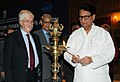 The Union Minister for Civil Aviation, Shri Ajit Singh lighting the lamp to inaugurate the 49th Conference of the Directors General of Civil Aviation, Asia and Pacific Regions, in New Delhi on October 08, 2012.jpg