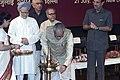 The Vice President Shri Bhairon Singh Shekhawat inaugurating a cultural function organised to bid farewell to the retiring Rajya Sabha members in New Delhi on July 21, 2004.jpg
