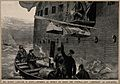 The War in Egypt; hoisting invalids on board a hospital ship Wellcome V0015351.jpg