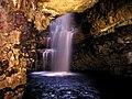 The Waterfall, Smoo Cave - geograph.org.uk - 1561562.jpg