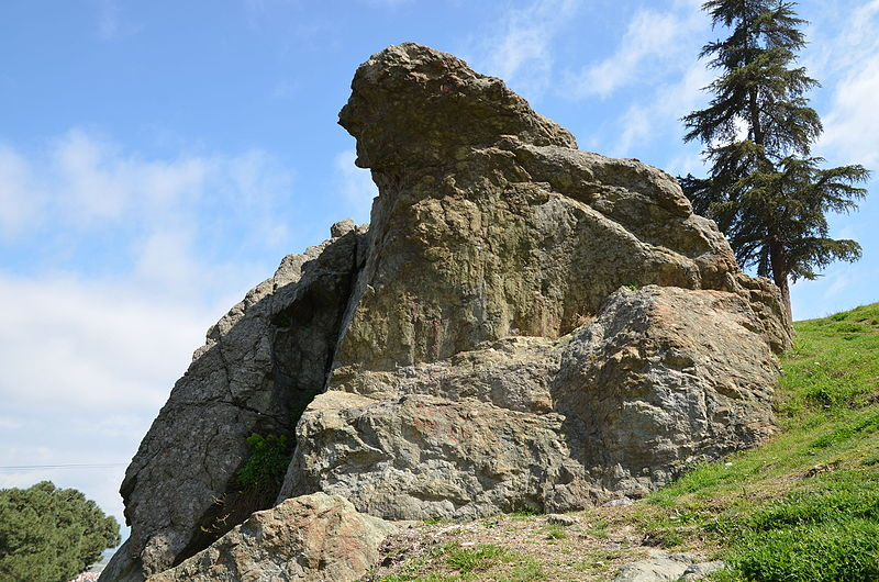 File:The Weeping Rock in Mount Sipylus, Manisa, Turkey, known as Niobe's Rock, a rock in the shape of a weeping woman, which the ancient Greeks believed to be Niobe (18982976930).jpg