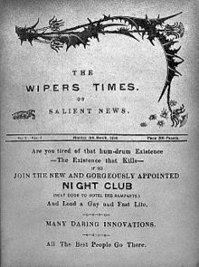 The Wipers Times, March 1916 issue