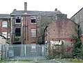 The back of disused buildings in Cleveland Road, Wolverhampton - geograph.org.uk - 1096038.jpg