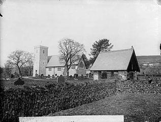 The church, Llandyfriog