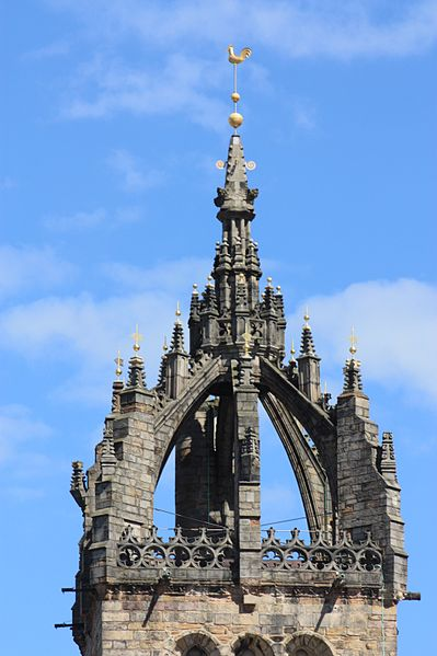 File:The crown spire on St Giles Cathedral, Edinburgh.JPG