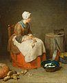 The kitchen maid by Jean-Baptiste Simeon.jpg