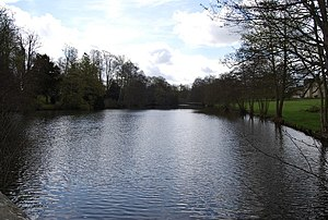 Chiddingstone Castle - Chiddingstone Castle Lake, as viewed from the North