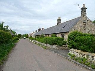Guyzance Human settlement in England