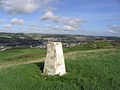 The trig point on Hardie's Hill - geograph.org.uk - 251597.jpg