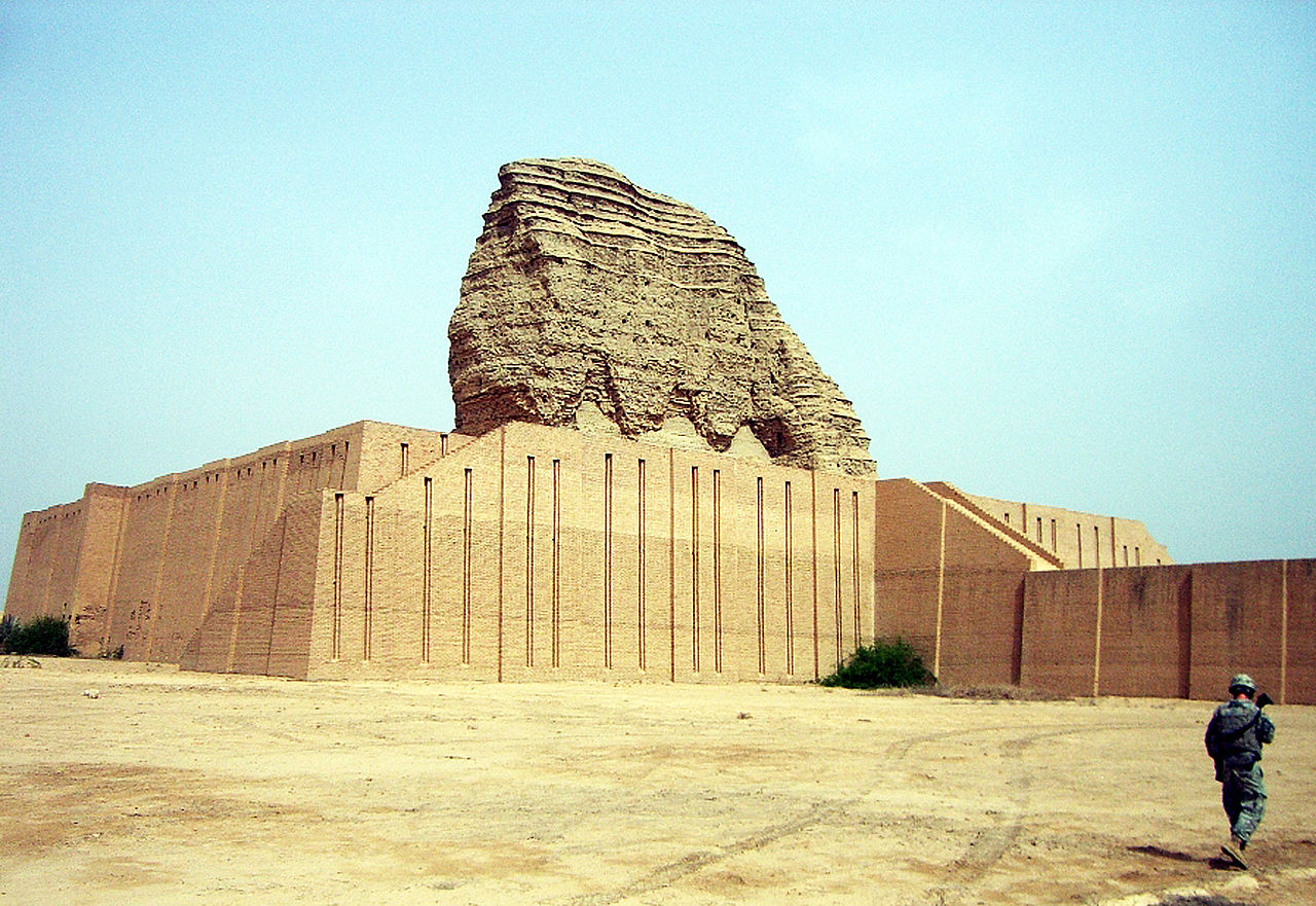 The ziggurat of Dur-Kurigalzu in 2010. © U.S. Army - Spc. David Robbins.