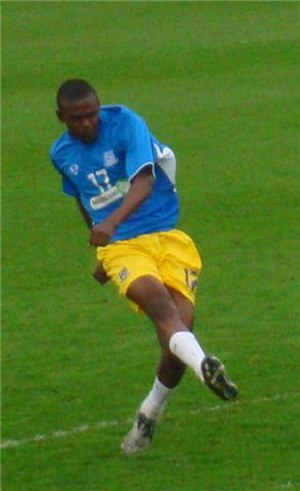 Theo Robinson - Robinson playing for Southend United