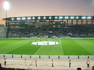 Thessalonioki, Stadium of PAOK - panoramio