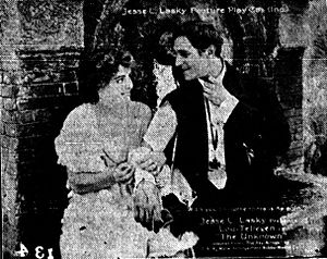 The Unknown (1915 drama film) - Scene from the film