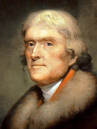 Democratic-Republican Party - Image: Thomas Jefferson 3x 4